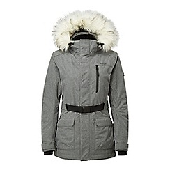 Tog 24 - Grey marl magna waterproof quilted jacket