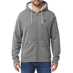 Tog 24 - Dark grey marl manvers mens sherpa lined hoody