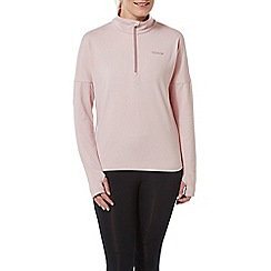 Tog 24 - Chalk Pink Marples Performance Zip Neck Top