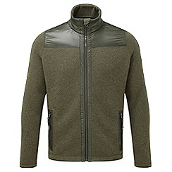 Tog 24 - Dark olive marl mega tcz wool fleece jacket