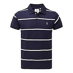 Tog 24 - Navy stripe merrion polo shirt