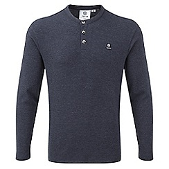 Tog 24 - Navy marl ned long sleeve t-shirt