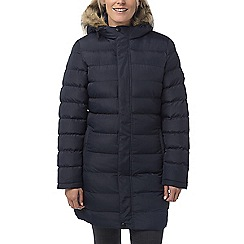 Tog 24 - Navy otley women's long insulated jacket
