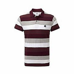 Tog 24 - Deep port stripe plain polo shirt