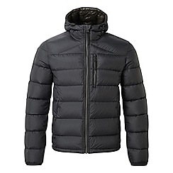 Tog 24 - Black peak down hooded jacket