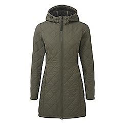 Tog 24 - Dark khaki penny tcz thermal long length jacket