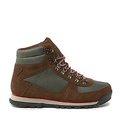 Tog 24 - Brown and Khaki and Red Penyghent Mens Waterproof Boots