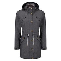 Tog 24 - Dark grey marl peony milatex jacket