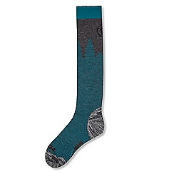Tog 24 - Lagoon pine merino ski socks