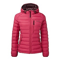Tog 24 - Cerise pro down hooded jacket