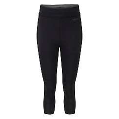 Tog 24 - Black marl raid reversible performance capris