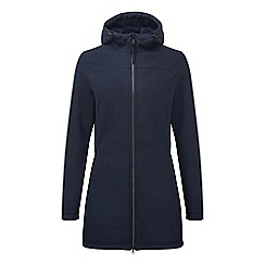 Tog 24 - Navy marl raine TCZ shell hooded jacket