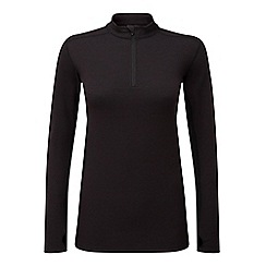 Tog 24 - Port marl recreate TCZ merino zip neck thermal top