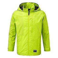 Tog 24 - Boys' bright lime revolution milatex waterproof jacket