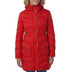 Tog 24 - Rouge red rialto down parka jacket