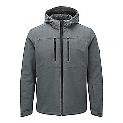 Tog 24 - Grey marl rig TCZ thermal hooded softshell jacket