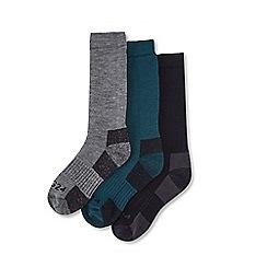 Tog 24 - Multicoloured rig ton 3 pack merino trek socks