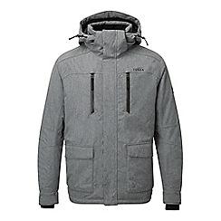 Tog 24 - Grey marl rogan waterproof insulated ski jacket