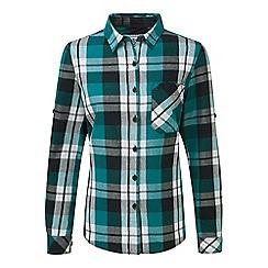 Tog 24 - Teal check rowena flannel shirt
