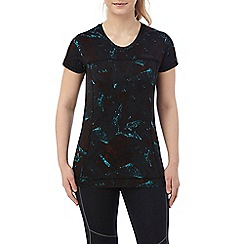 Tog 24 - Black print safila stretch performance t-shirt