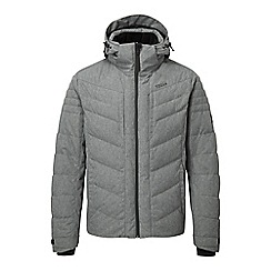 Tog 24 - Grey marl scar waterproof down insulated jacket