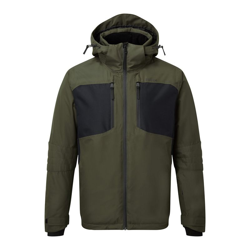Tog 24 Grey Marl Scar Waterproof Down Insulated Jacket