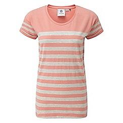 Tog 24 - Peach marl shea stripe deluxe t-shirt