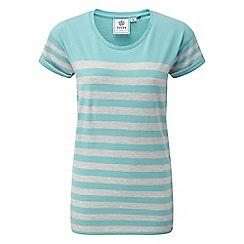Tog 24 - Spearmint marl shea stripe deluxe t-shirt