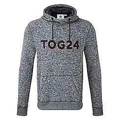 Tog 24 - Grey marl Skipton knit look fleece hoody