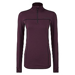 Tog 24 - Deep port Sophia stretch performance zip neck top