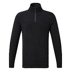 Tog 24 - Black spen TCZ 100 zip neck fleece