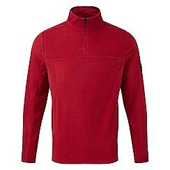Tog 24 - Chilli red spen zip neck micro fleece