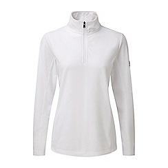 Tog 24 - White spen TCZ 100 zip neck fleece