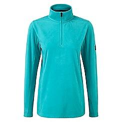Tog 24 - Turquoise spen zip neck micro fleece