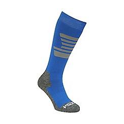 Tog 24 - Black/sky/grey staffler merino ski sock 3 pack