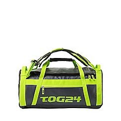 Tog 24 - Navy/lime stow 60l packaway duffle