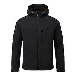 Tog 24 - Black strategy softshell hooded jacket