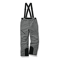 Tog 24 - Grey marl taylor waterproof insulated salopettes