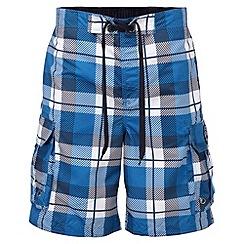 Tog 24 - New blue check tonga swim shorts