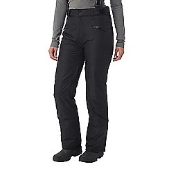 Tog 24 - Black trinity womens waterproof insulated ski pants