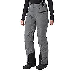 Tog 24 - Grey marl trinity womens waterproof insulated ski pants