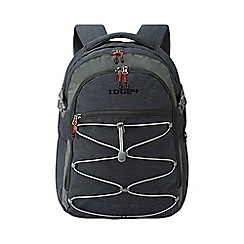 Tog 24 - Black/grey urban college backpack