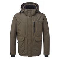 Tog 24 - Dark khaki vertigo mens waterproof insulated ski jacket 7e3c3544d