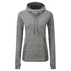 Tog 24 - Grey marl vivace tcz stretch seamless hoodie