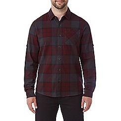 Tog 24 - Deep port Wallace mens flannel check shirt