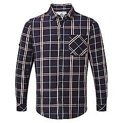 Tog 24 - Navy check walter flannel shirt