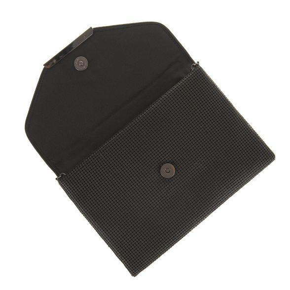 mesh Black Parfois clutch mini party 7nOn4Pxgqw