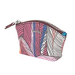 Parfois - Pink basic feather wallet