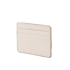 Parfois - Light cream basic reptil document wallet