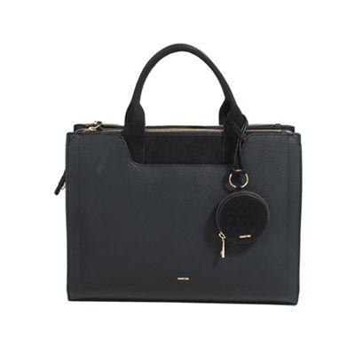 Parfois   Black Bugs Saf Briefcase by Parfois